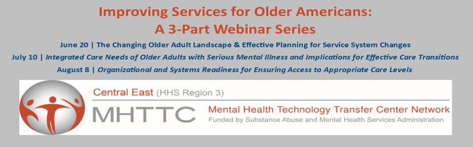 CE-MHTTC webinar series