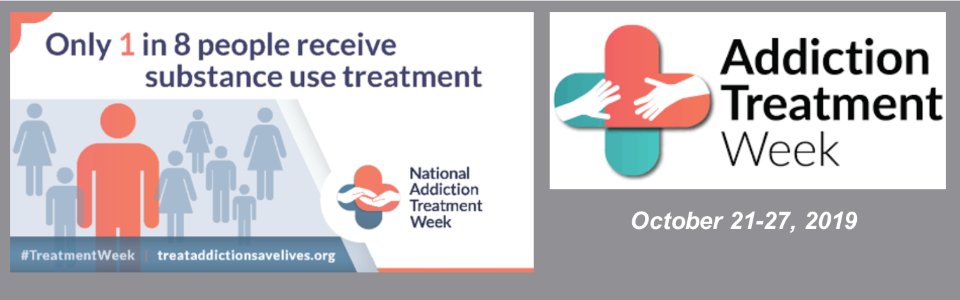 Addiction Treatment Week banner
