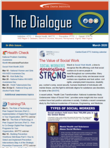 March 2020 Dialogue eNewsletter thumbnail