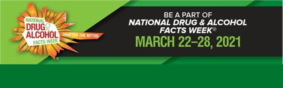 National Drug & Alcohol Facts Week graphic